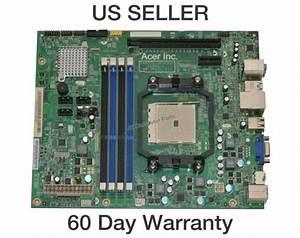 Acer Aspire M3470 Amd Desktop Motherboard Sfm1 Daa75l Aparker Mb Sjw01 001