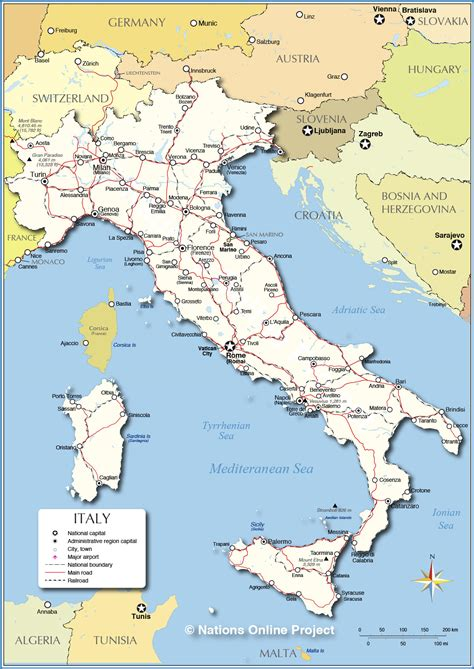 geography biomes  anthromes  italy italy geography