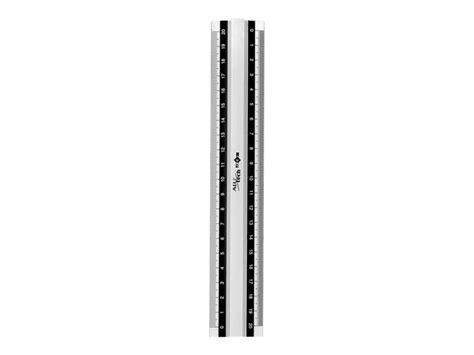 calculatrice bureau jpc alu 39 tech règle 20 cm blanc aluminium règles