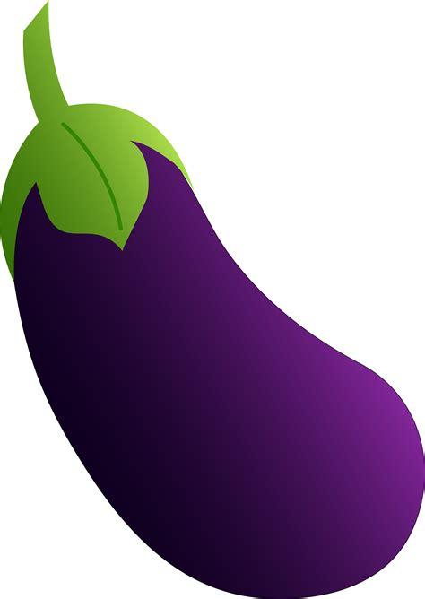 Purple Clipart Purple Eggplant Free Clip