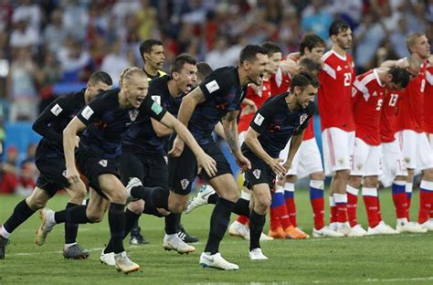 World Cup Live Updates Russia Croatia