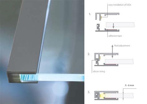 led shelving  signature lights pure light led products