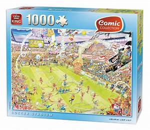 Puzzle Online Kaufen : fu ballstadion 1000 teile king international puzzle online kaufen ~ Watch28wear.com Haus und Dekorationen
