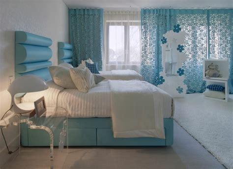Tuerkise Vorhaenge Frische Farbe Im Raummodern Chic White Turquoise Living Room Dining Area by 30 Vorh 228 Nge Ideen F 252 R Schlafzimmer