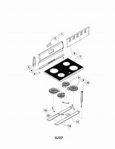 Sunbeam Electric Range Parts