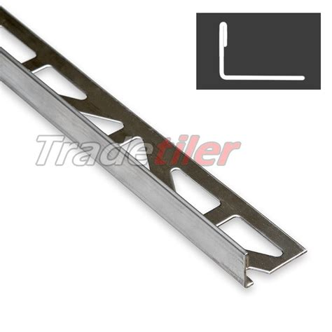 12 5mm edge stainless steel tile trim 163 19 35 in
