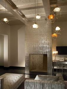 Silver Leaf Ceilings That Inspire Decadence (PHOTOS ...
