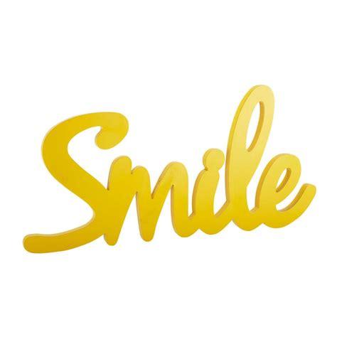 tapis chambre ado fille déco murale en bois jaune l 93 cm smile maisons du monde