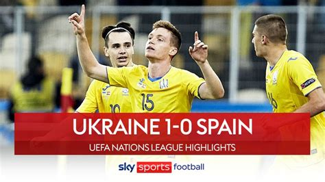 Nations League round-up: Spain stunned by Ukraine as ...