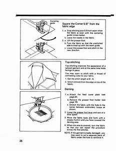 Page 28 Of Kenmore Sewing Machine 14502 User Guide