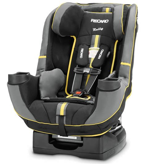 Recaro Performance Rally Convertible Car Seat Raven