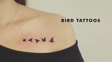 21 Beautiful Bird Tattoo Designs