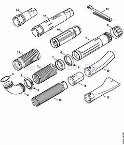 32 Stihl Backpack Blower Parts Diagram