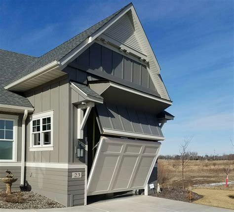 overhead garage door  ingenious design