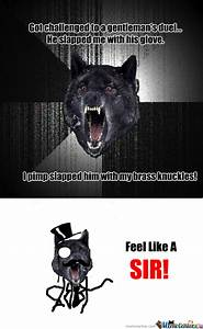 Insanity Wolf Vs Courage Wolf Vs Smile Dog