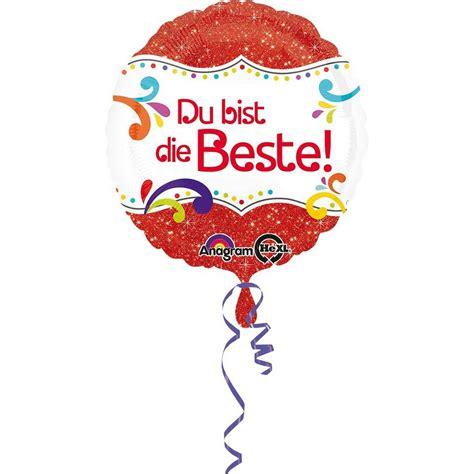Amscan Folienballon Du Bist Die Beste! Kaufen Otto