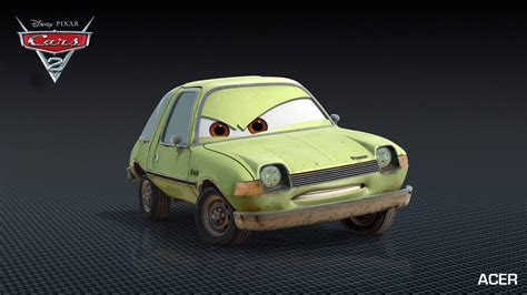 Cars 2 Characters & Personages Autofans