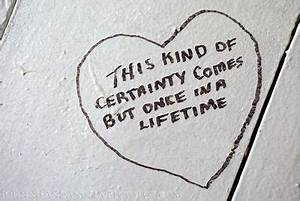 quote from Brid... Certainty Love Quotes