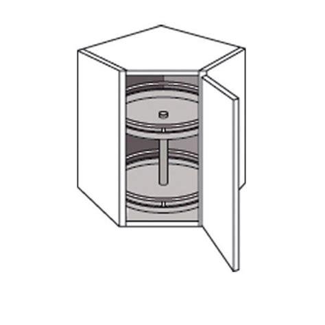 meuble coin cuisine meuble de cuisine coin haut avec 2 plateaux lumio cuisine