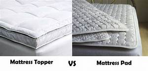 what is the difference between mattress topper and pad With difference between mattress pad and topper