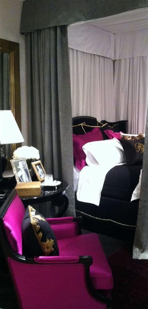 chambre violet et noir deco chambre noir violet