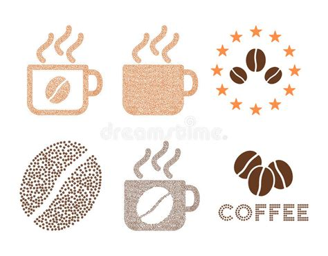 Coffee Cups And Logo Vector Composition With Coffee Beans Tassimo Coffee Pods Sale Green Extract Traduccion At Tesco Carte Noire For Dieting Robusta Smell Unroasted Beans And Weight Loss