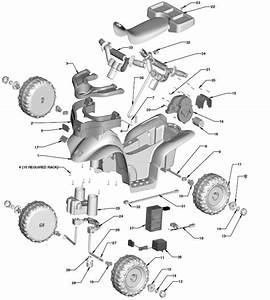 Power Wheels Lil Barbie Trail Rider Parts