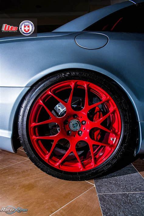 mercedes benz  slk amg  hre performance wheels