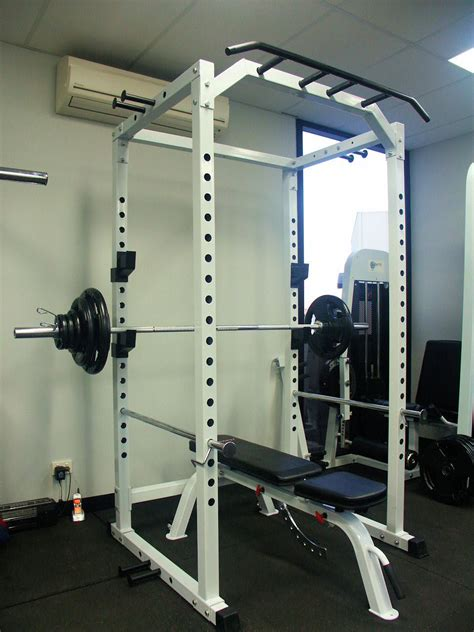 power squat rack cage kg olympic weight set adjustable flat incline bench ebay