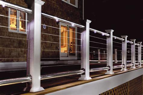 led can lights led deck railing light photos