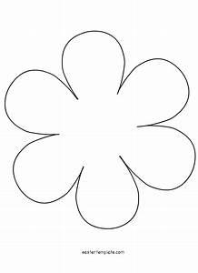petal flower template permalink petal template 5 petal With flower template 5 petals