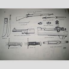 Parts Diagram  Wwii 1903a3 Serial #3731435