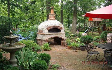 backyard pizza oven brick box image outdoor brick oven
