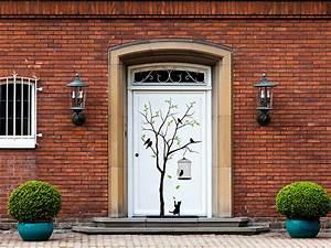 Aussen Hauswand Deko : wandtattoos im au enbereich h lt ein wandtattoo au en ~ Sanjose-hotels-ca.com Haus und Dekorationen
