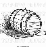 Clipart Barrel Webstockreview Unique Drawing sketch template