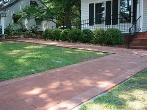 Brick Vector Picture: Brick Sidewalks