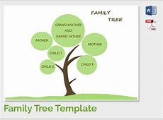 Family Tree Template – FREE DOWNLOAD Printables Unlimited