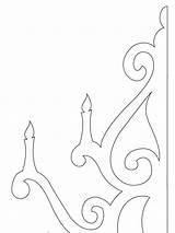 Chandelier Template sketch template