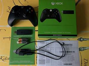 Microsoft Xbox One Controller   Wireless Adapter For