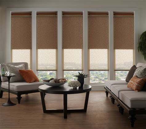 Contemporary Blinds by Roller Shades 3 Blind Mice Window Coverings