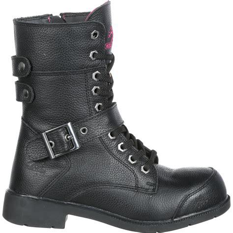 safest motorcycle boots moxie trades amelia 8 inch aluminum toe women 39 s