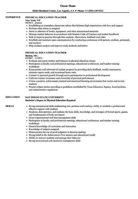 Physically impaired teacher cv July 2020