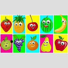 Ten In The Bed  Fruits Nursery Rhymes For Kids  Learn Fruits Songs For Toddler  Kids Tv Youtube
