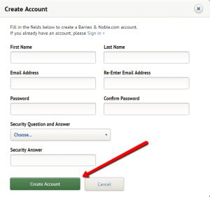 How To Get A Barnes And Noble Account by Barnes And Noble Credit Card Login Make A Payment