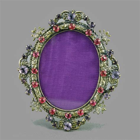 Mini Picture by Deco Jeweled Mini Picture Frame From Amyantiq On Ruby