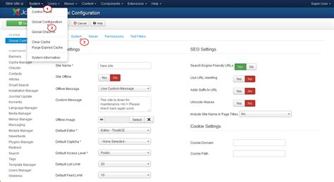 joomla 3 x how to disable caching template monster help