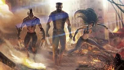 Wolverine Team 4k Wallpapers Artstation Artwork