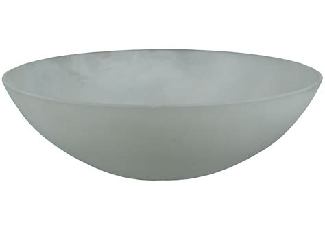 floor l glass shade bowl meyda 133025 clear 9 quot w x 3 quot h bowl frosted glass