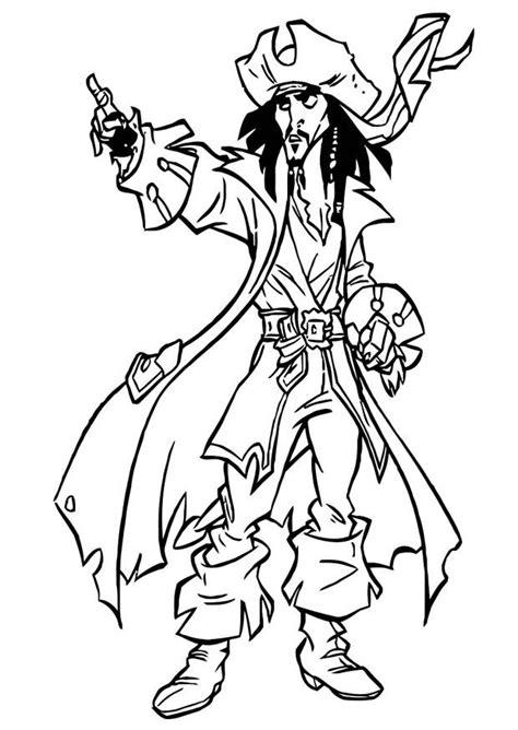 Dibujo para colorear Piratas del Caribe Img 20754