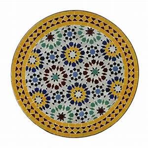 Balkontisch Rund 60 Cm : mosaiktisch balkontisch gartentisch beistelltisch rund marokko glasiert m60 5 ebay ~ Frokenaadalensverden.com Haus und Dekorationen